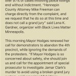 .@BlackLivesMpls and @NAACPmpls will hold a press conference at 2 in response to charges filed against 4 white men. https://t.co/rxaDurNaS8