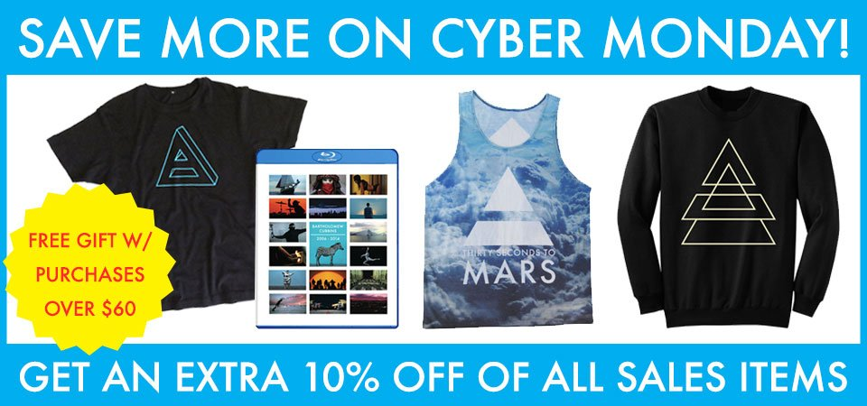 Say HELLO to #CyberMonday! Save an EXTRA 10% OFF in the @MarsStore with