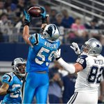 2nd MOST TWEETED ABOUT @NFL MOMENT WEEK 12: @LukeKuechly pick 6 on Tony Romo gives @Panthers a 20-3 over #Cowboys https://t.co/HjTxwQ7YPo