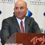 Your new #USC head coach: Clay Helton signed a 5-year guaranteed deal. https://t.co/WpemrUZb6p