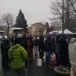 Protesters at #4thPrecinctShutDown fearing a possible eviction today. #JamarClark https://t.co/4HtnfVLvg6