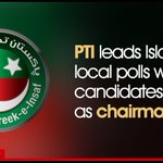 #PTI leads #Islamabad local polls with nine candidates elected as chairman Read more: https://t.co/fXPWPn0ZGZ https://t.co/8L9WKO5YhR