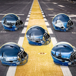 Wow: Navy players will wear 7 different types of hand painted helmets for their game this week vs Army https://t.co/Aas5b7SI3i