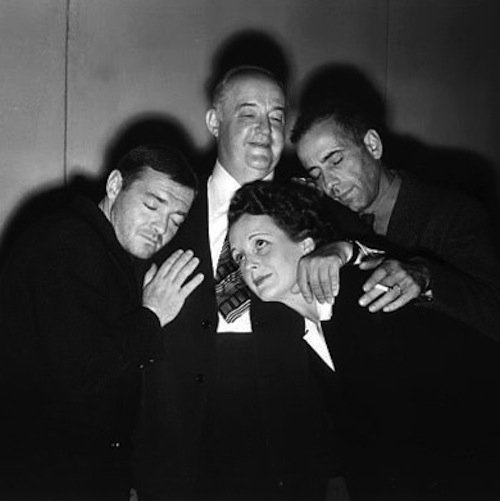 The cast of The Maltese Falcon via @cinemaisswell #Noirvember  https://t.co/CwGXUKINl4