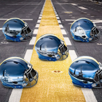 Navy will wear hand-painted helmets unique to position groups for the Army-Navy game and they are so, so sick. https://t.co/TzHoDCYyTn