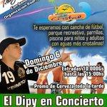 ¡El gigante de Luque,el balneario Cristal de Luque presenta este domingo 6 de diciembre el recital en vivo del Dipy! https://t.co/idjJ2OqrrH