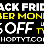 Get yourself some @TYTNetwork merch. 50% OFF today #CyberMonday at https://t.co/cwOmnUR01B https://t.co/tC2WLnOoud