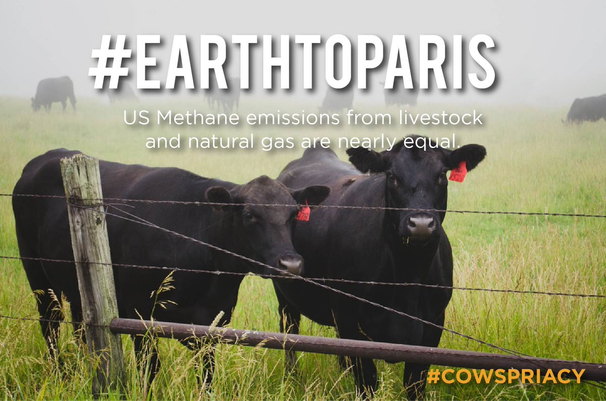 RT @Cowspiracy: #EARTHTOPARIS Animal Agriculture Need to be Addressed! Read our latest blog post --> https://t.co/n64zmQ6hOQ https://t.co/v…