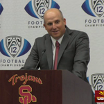 Full video of the @ADHadenUSC and @USCCoachHelton press conference. #USC https://t.co/1eIWyjS9xa https://t.co/mWXi9T8nta
