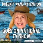 Lady C doesnt want too much attention #ImACeleb https://t.co/MK4ghLL0gk