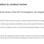 Full release on AB govs external investigation of Alison Redford conflict of interest allegations #ableg #abpoli https://t.co/lbP5By0Ape