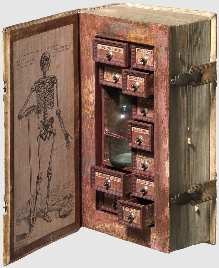17th century poison cabinet disguised as a book. https://t.co/GUdJAvZl43