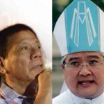 Archbishop hits Duterte: Corruption is a devil with many faces https://t.co/I9AXnkUgJg   @NCorralesINQ #VotePH2016 https://t.co/Z0q7LPONLW