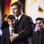 Un placer entregar un premio al mejor futbolista de la historia. ???????? #NoWords #PremiosLaLiga https://t.co/IbySoza1N2