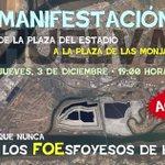 Hoy más que nunca: Fuera los FOEsfoyesos de #Huelva. #3d. #AlgoEstáCambiandoEnHuelva. https://t.co/3yf9mPSQAp