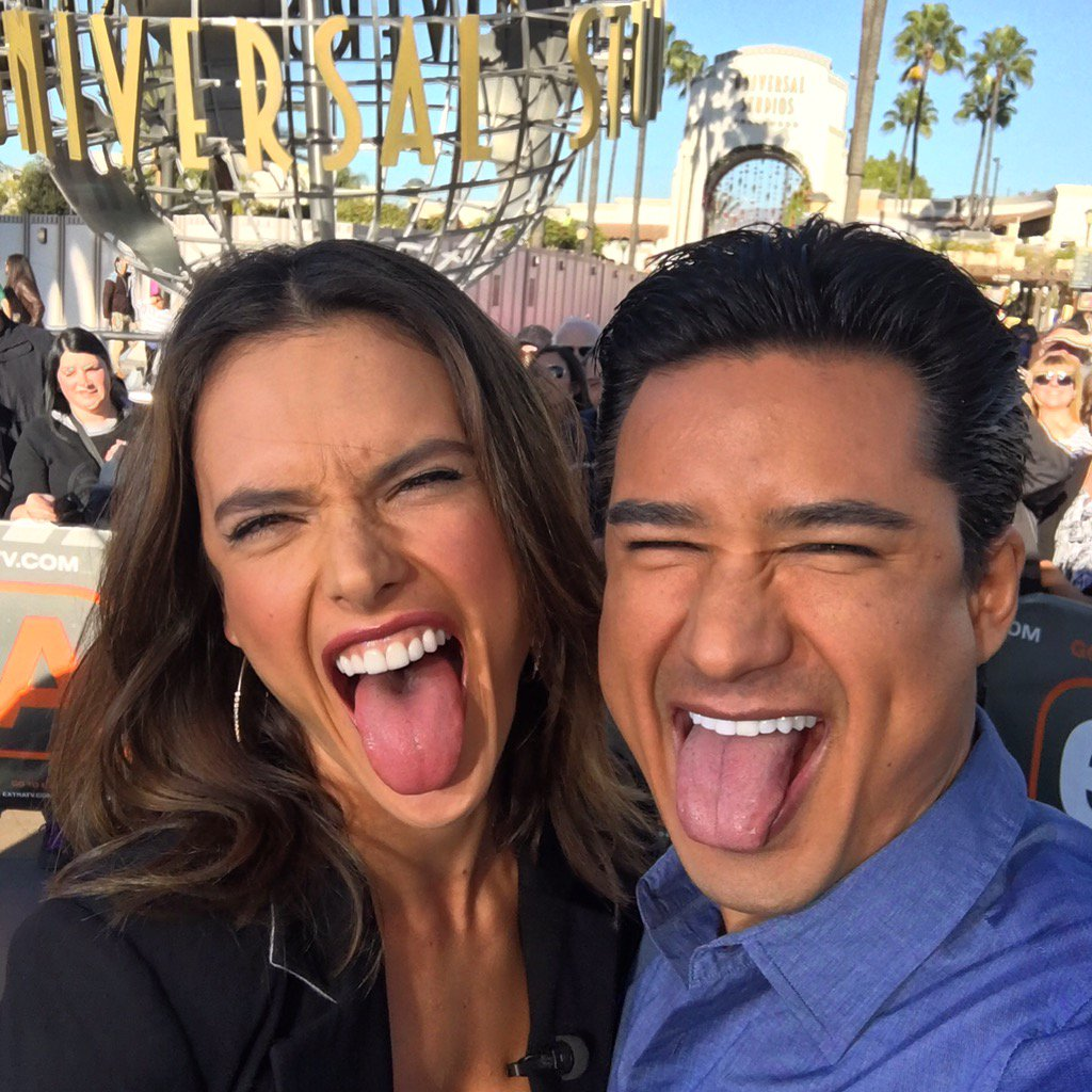 RT @MarioLopezExtra: Being silly with the funny & sassy @AngelAlessandra !  #Angel https://t.co/upc3sM4lQ4