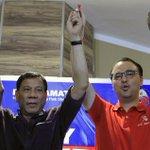 LOOK: Duterte and Cayetano proclaim candidacies #Halalan2016 https://t.co/Xofs7qZVyt https://t.co/sGtInkpFox