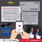 #BuenasNoticiasMX Miguel Garrido y Diego Pech, campechanos que orgullosamente hacen #CrecerEnGrande a nuestro edo.! https://t.co/xmnXNnhYQx