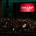 Its a packed house tonight at Emens Auditorium for #DaveatBallState! #233multi https://t.co/rH2QBtCdDi