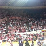 A look at the crowd for the Indiana-Alcorn State game. https://t.co/FCWScvEhvD