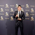 James Rodríguez, mejor centrocampista de la Liga BBVA 14-15 https://t.co/BNO2riyz2n #OigoLAFm https://t.co/1D94ZEJub3