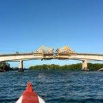 2do Puente La Restinga a días de finalizar vaciado d dovelas. A mediados d diciembre se inaugura. Margarita pujante! https://t.co/JHMu3Km8Pn