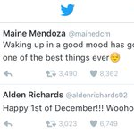 GOOD MORNING, PILIPINAS! Good mood sila @mainedcm at @aldenrichards02 ngayong umaga! #ALDUBDejaVuLove https://t.co/wjJjeLVflt