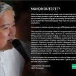(Repost) CBCP President Archbishop Socrates Villegas on Mayor Rodrigo Duterte: https://t.co/fEzzgDsC8f