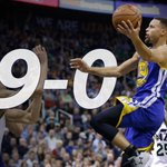 STILL PERFECT! Steph Curry scores 10 Pts in 4th quarter, 26 in game, to lead Warriors to 106-103 win over Jazz. https://t.co/F2VU1Kp3iQ