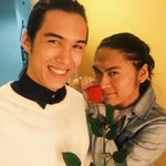 You are gwapo as always @EsguerraTommy . ???? Thanks @robinxjames for making him look good. ???? #PaskoNaSaShowtime https://t.co/mSmpJXqgeC