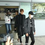 151201 EXO @ Hong Kong Airport arrival https://t.co/bnMO7FZljM
