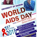 @uonbi #WorldAIDSDay activities will be at Lower Kabete Campus from 10 am. Free counseling & testing for HIV. https://t.co/d5FNE7KEWa