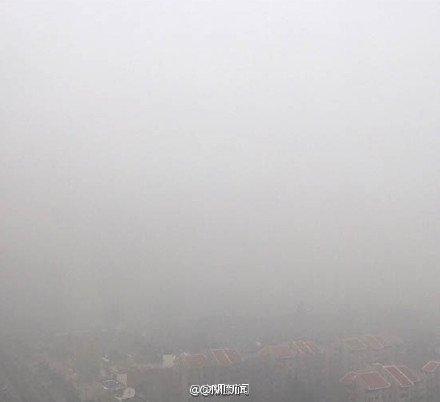 """小时候课本上一直告诉我们:我国绝不会走资本主义""""先污染后治理""""的老路,今天我站在这一片雾霾中,才了解,我国走的是""""先污染也不治理""""的中国特色社会主义道路。 https://t.co/Z5bCsVctLg"""