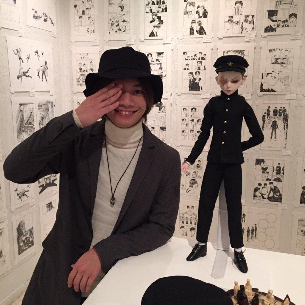 映画「ライチ☆光クラブ」にてニコ役を熱演されていらっしゃる池田純矢さんにご来場いただきました!ニコ・ドールと記念撮影♪映画は2016年2月13日より公開とのことです!https://t.co/PgWyXnnGGH https://t.co/FAvXCjoQBU