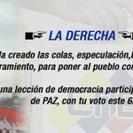 Somos pueblo revolucionario que no cree en mentiras de la Derecha y demostrará este 6D que #ChavismoEsDignidad https://t.co/wVjDFgkITY