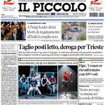 """""""Prima Nannini, poi Iron Maiden, Trieste torna rock"""", la prima pagina de @il_piccolo di oggi! #IronMaidenTrieste https://t.co/DdvulqBixP"""