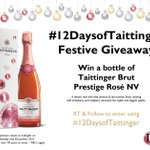 Day 9 of #12DaysofTaittinger #comp! #win a bottle of Taittinger Brut Prestige Rosé NV RT & Follow to enter https://t.co/hZ5gRxDb0O