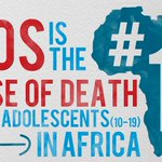 AIDS is the number one cause of death among adolescents in Africa. #WorldAIDSDay #WAD2015 https://t.co/ZN8zivt9u2