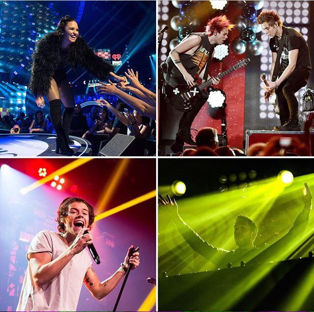 Who's ready to see @ddlovato @5sos @onedirection @calvinharris +SO many more all in ONE EPIC night?! #KISSJingleBall https://t.co/ERyJNQcX7N