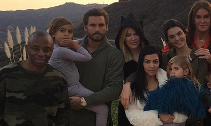 Just who was the mystery man was at the Kardashians' Thanksgiving dinner? All is revealed: