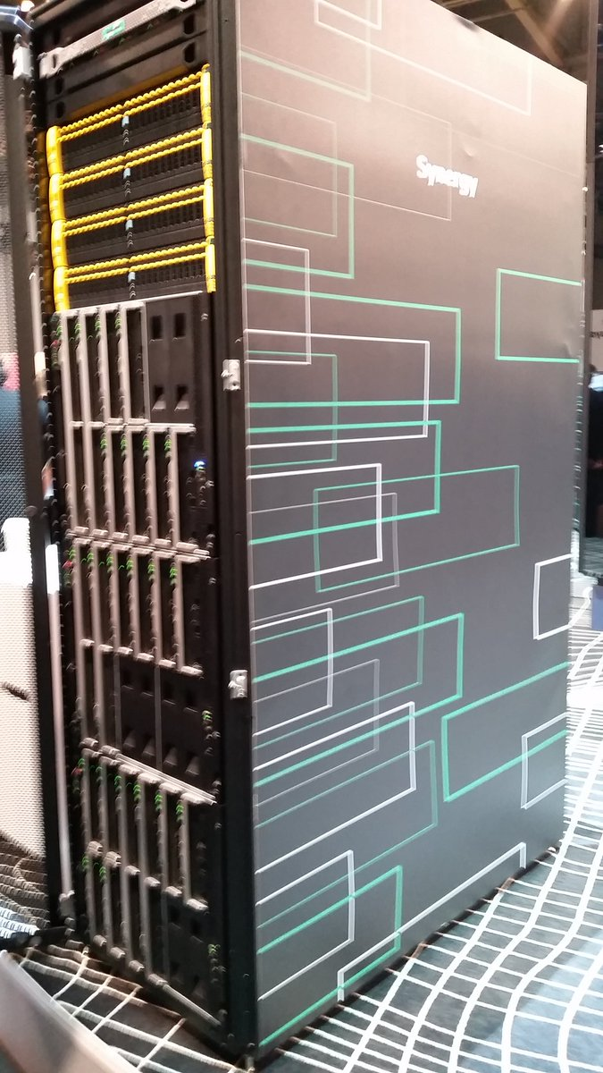 Hello beautiful. Welcome HPE Synergy. #Composable  #HPEDiscover https://t.co/tnuJwHXKOy