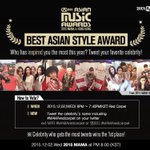 EXO-Ls remember to vote for EXO in the best asian style award by following the steps in the picture^^ https://t.co/sBqji1R8L1