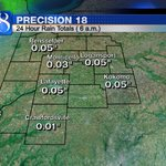 """Rain totals are on the lighter side this morning. Lafayette has received 0.05"""" of rain in the last 24 hours. #Inwx https://t.co/xhEAdf3Ulc"""