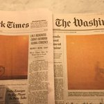 A rare example of @nytimes and @washingtonpost choosing same Page 1 photo for non-breaking news: Climate change. https://t.co/6f3sXVdYIh