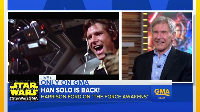 Harrison Ford Reveals He's Seen 'The Force Awakens'