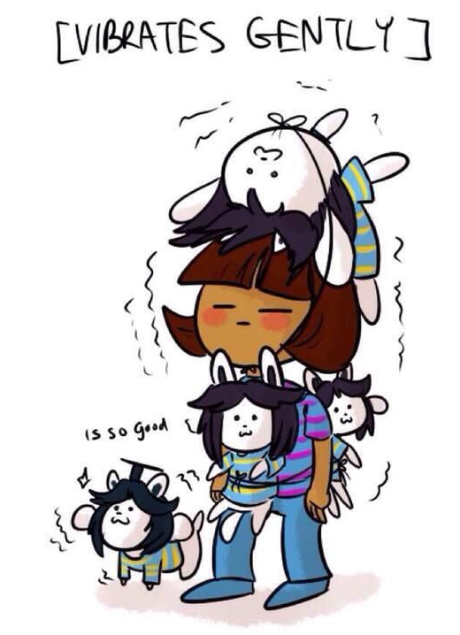 #Temmie #VibratesGently #Undertale   No, I'm not going to stop. Why do you ask? https://t.co/2tLs4ZGmf8