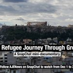 .@AJEnglish is taking the refugee trail from Lesbos to Macedonia in a Snapchat mini-doc. Watch by following AJENews. https://t.co/Omz9XF725K