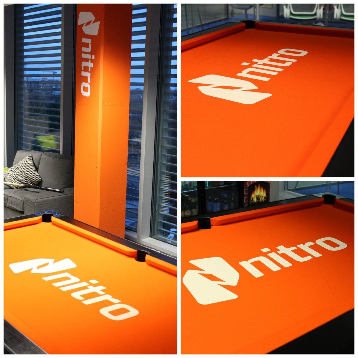 Christmas came early in the Nitro EMEA HQ today when we became the proud owners of a new pool table! #lifeatnitro https://t.co/vLCKmKw4ai