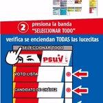 ¿Cómo Votar por los Candidatxs de Chávez? #6DArribaALaIzquierda #Venezuela se prepara para la #VictoriaPerfecta https://t.co/JAhx7kUD22
