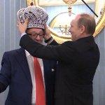 Еще немного фото с церемонии чаепития Путина и Хазанова в Кремле Смотрите: https://t.co/p447fJdQOD https://t.co/fkpl3MRyVE